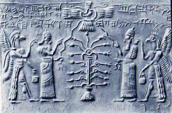 Ασσυριακός σφραγιδόλιθος, 850-825 π.Χ