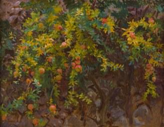 John Sargent, Pomegranates. Μαγιόρκα 1908