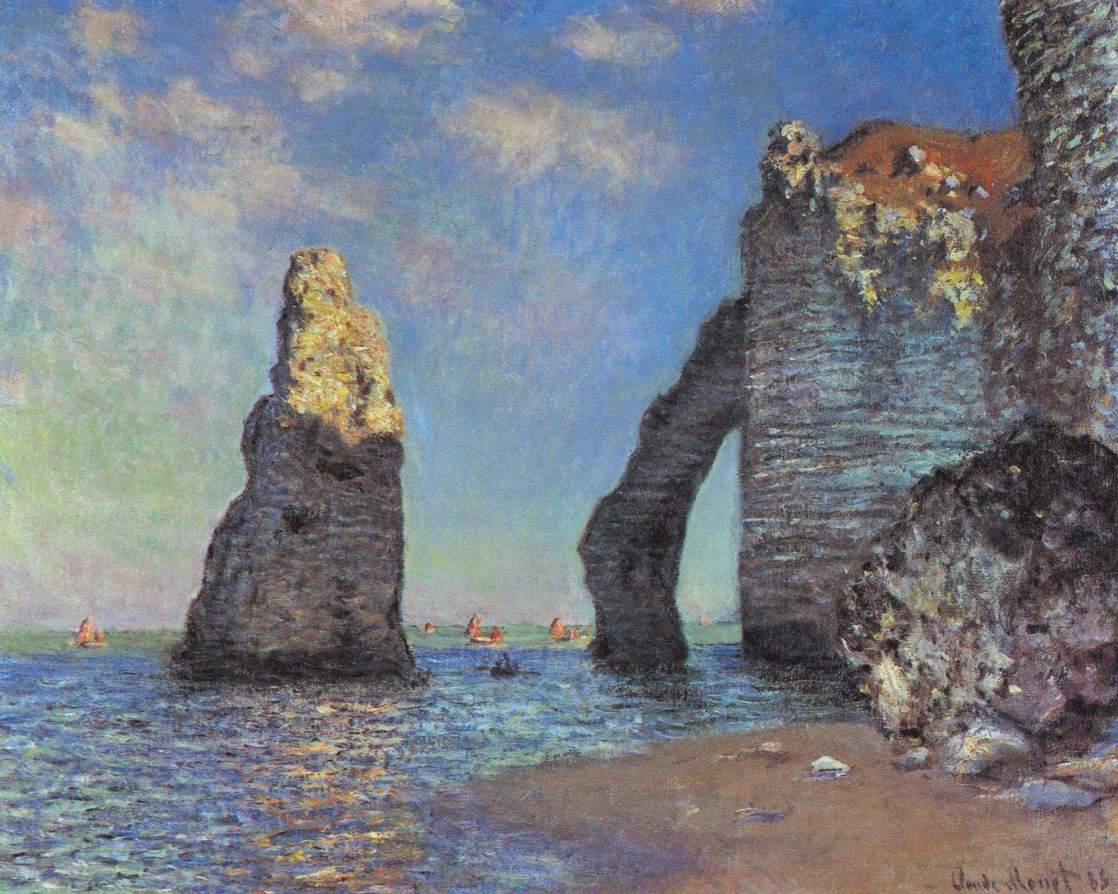 Είναι γενικά αποδεκτό ότι ο Claude Monet υπήρξε ο εισηγητής με τις.
