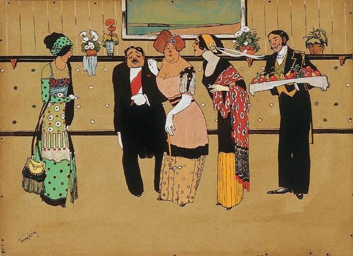 Geza Farago reception 1910s