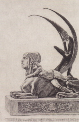 Félicien_Rops,_Die_Sphinx_(1882)