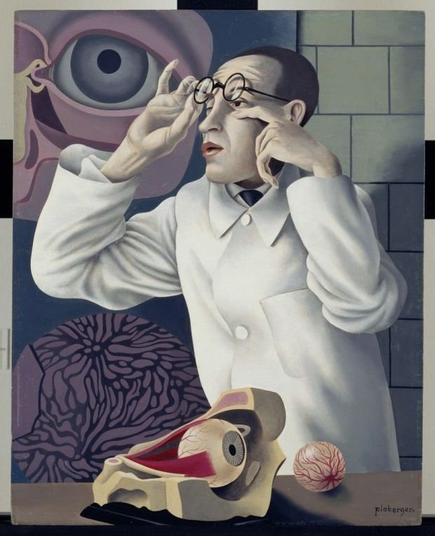 Ploberger_Self-portrait-with-opthalmological